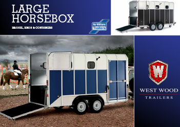 large horse box brochure