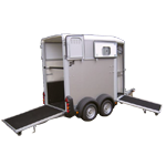 HB403 Ifor Williams Single Horsebox Trailer
