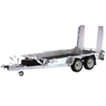 GH1054 Ifor Williams Plant Trailer