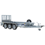 GP126 TRI Ifor Williams Plant Trailer