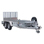 GP126 Ifor Williams Plant Trailer