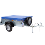 P5e Ifor Williams Unbraked Trailer