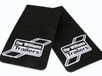 Branded Mudflaps - Westwood Ifor Williams Branded Mudflaps