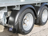 Mudguards Fitted Twin Axle - Westwood Ifor Williams  Mudguards Fitted Twin Axle