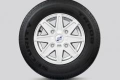 Alloy Wheel 8 Spoke Silver