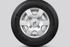 Alloy Wheel 6 Spoke Silver