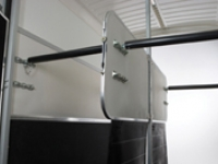 Hinged Removable Partition - Westwood Ifor Williams Hinged Removable Partition