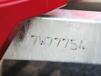 Security Cut in Drawbar Code - Westwood Ifor Williams Security Cut in Drawbar Code