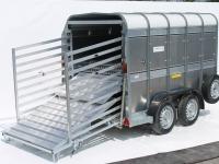 Easy Load Hydraulic Deck System - Westwood Ifor Williams Easy Load Hydraulic Deck System