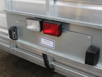 Number Plate Holder - Westwood Ifor Williams Number Plate Holder