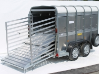 Easy Load Hydraulic Deck System - Westwood Ifor Williams Easy Load Hydraulic Deck System