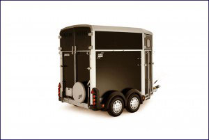 HB Ifor Williams Horsebox, Westwood New Trailer, Black,