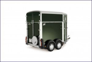 HB Ifor Williams Horsebox, Westwood New Trailer, Green,