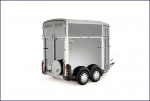 HB Ifor Williams Horsebox, Westwood New Trailer, Silver
