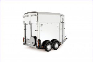 HB Ifor Williams Horsebox, Westwood New Trailer, White,
