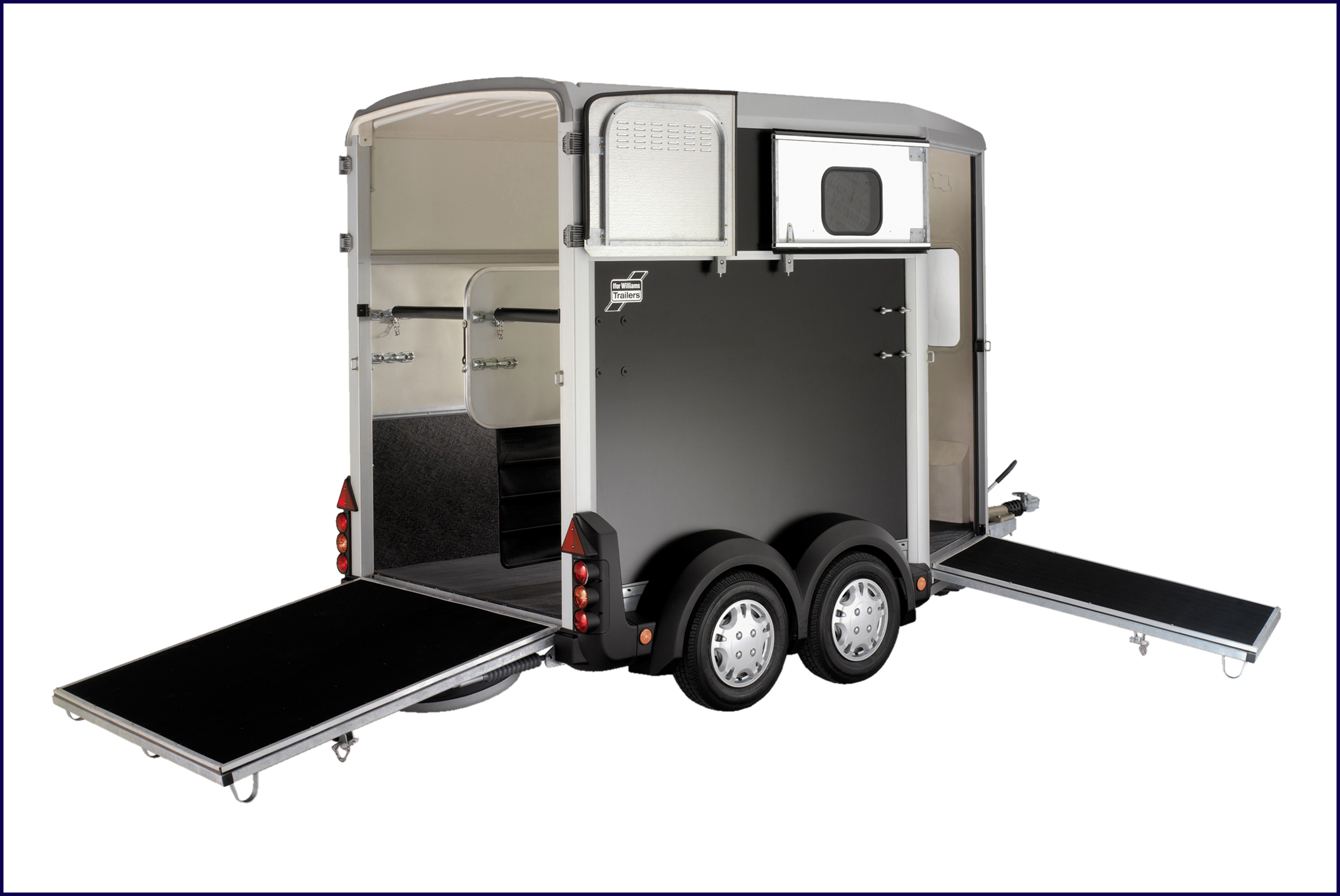 H506 Ifor Williams Horsebox, Westwood New Trailer,