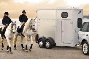 HB506 Ifor Williams Horsebox, Westwood New Trailer, Silver