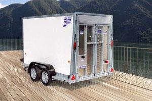 BV105 Ifor Williams Box Van, Westwood New Trailers,