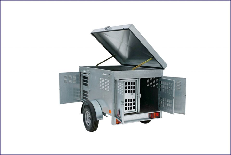 Ifor Williams Dog Trailer, Westwood New Trailers
