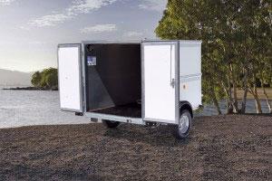 BV64e Ifor Williams Box Vans, Westwood New Trailers, Van Doors