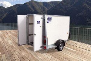 BV84 Ifor Williams Box Van, Westwood New Trailers,