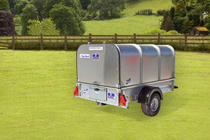 P6e Ifor Williams Small Unbraked, Westwood New Trailers, Tailboard Canopy