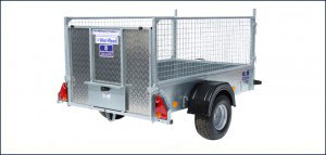 P6e Ifor Williams Small Unbraked, Westwood New Trailers, Ramp-Mesh