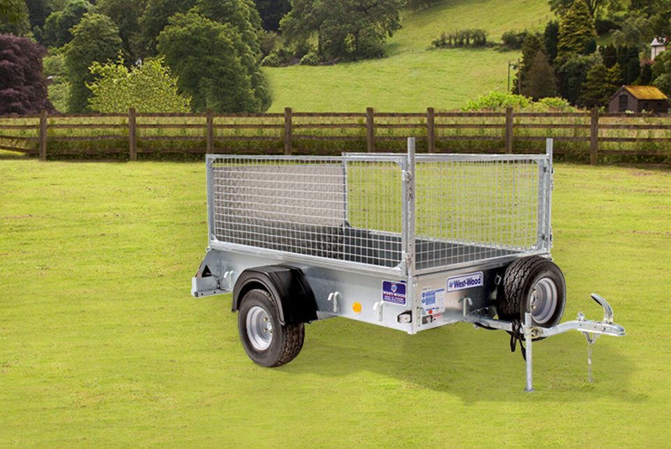 P6e Ifor Williams Small Unbraked, Westwood New Trailers, Ramp Mesh
