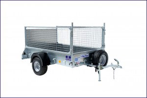P6e Ifor Williams Small Unbraked, Westwood New Trailers, Ramp and Mesh