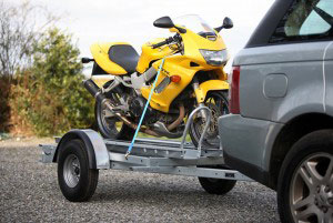 Ifor WIlliams Motorcycle Trailer, Westwood New Trailers,