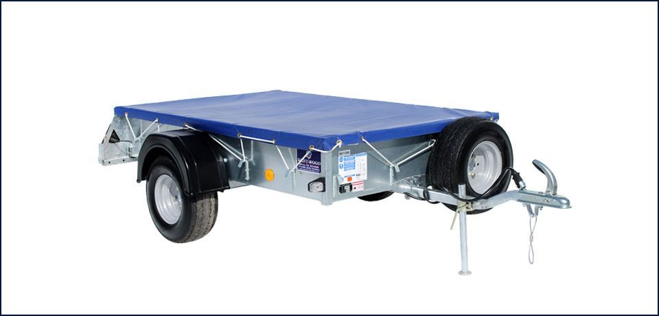 P6e Ifor Williams Small Unbraked, Westwood New Trailers, Cover Front