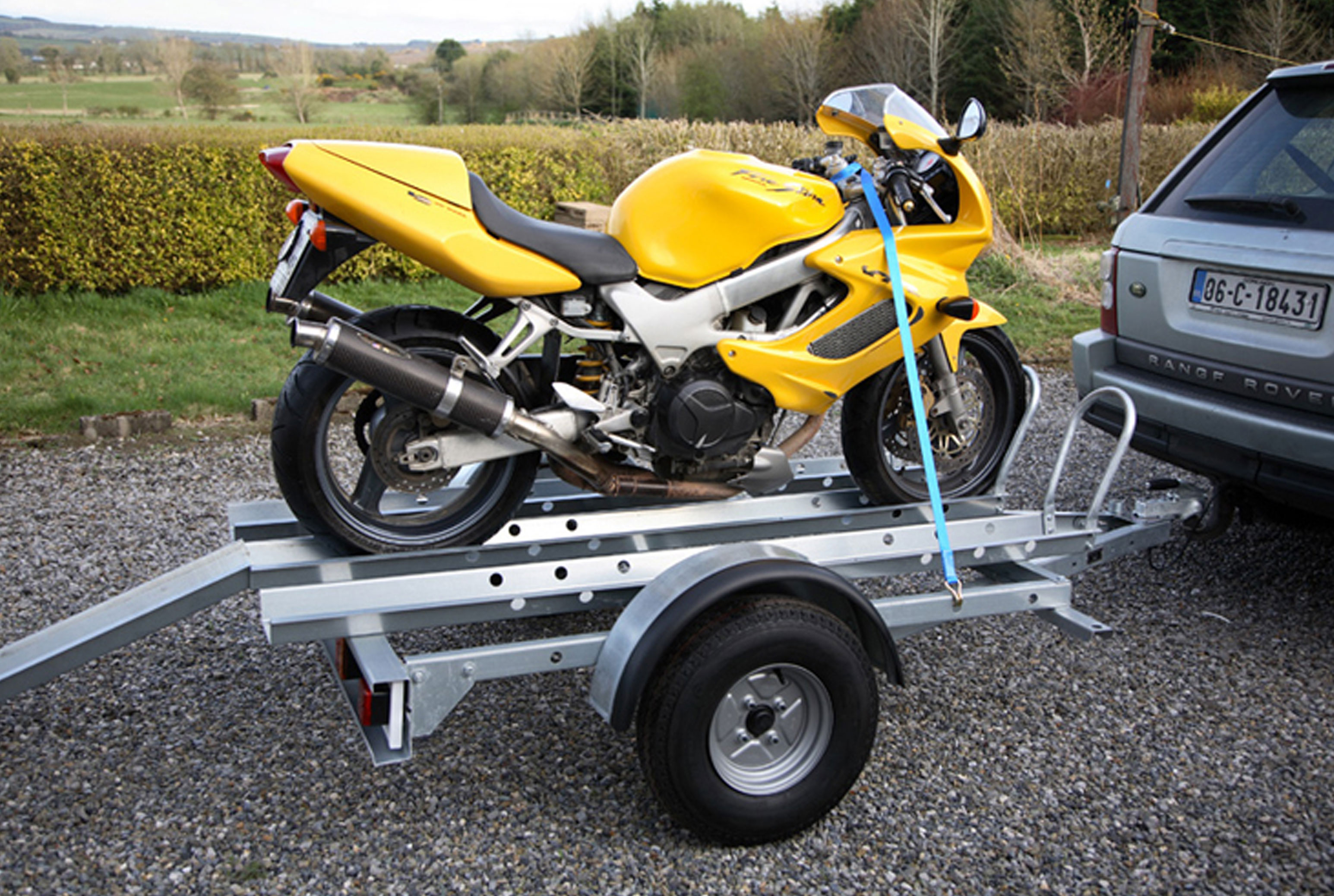 Motorbike Trailers New West Wood Ifor Williams Motorbike