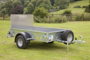 P6E Ifor Williams Small Unbraked, Westwood New Trailers, RAMP