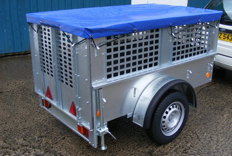 Ifor Williams Unbraked, Westwood New Trailers, 5'10''x3'3''x15'', Mesh Sides & Cover,