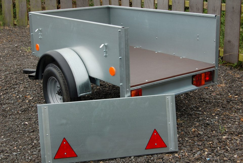 Ifor Williams Unbraked, Westwood New Trailers, 5'x3'x16'',