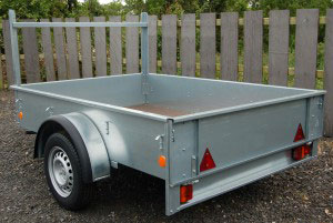 Ifor Williams Unbraked, Westwood New trailers, 7'x5',