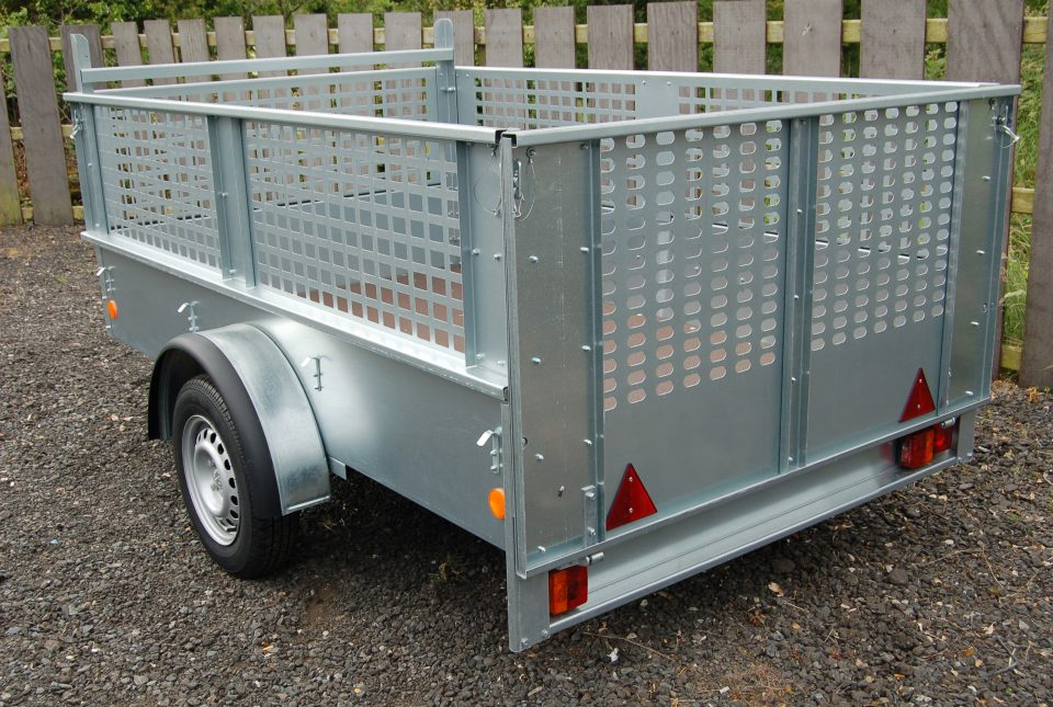 Ifor Williams Unbraked, Westwood New Trailers, 8'x4'1'' with Mesh Sides,