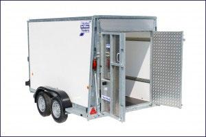 BV105G Ifor Williams Box Vans, Westwood New Trailers,