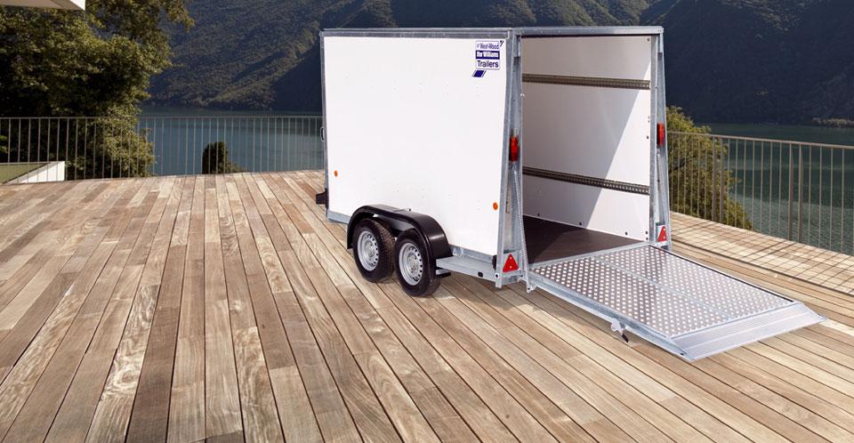 BV105G Ifor Williams Box Vans, Westwood New Trailers