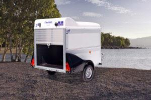 BV64e Ifor Williams Box Van, Westwood New Trailers, Van Doors,