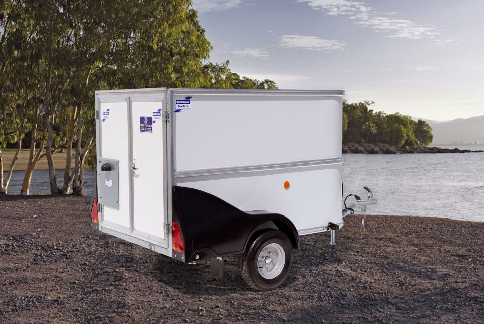 BV64G Ifor Williams Box Van, Westwood New Trailers, Van Doors,
