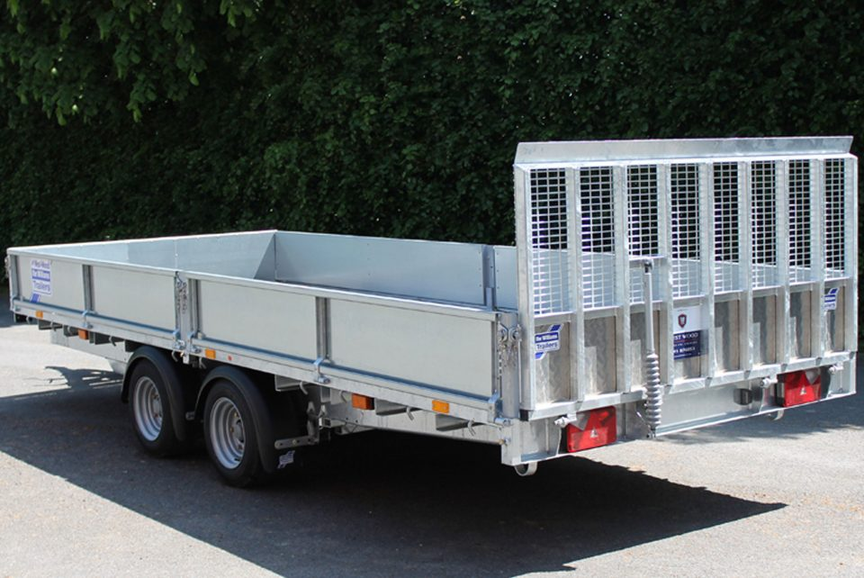 CT166-167 Ifor Williams Tiltbed, Westwood New Trailers,