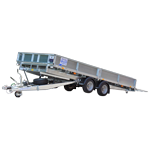 CT Tilt Bed Ifor Williams Trailers