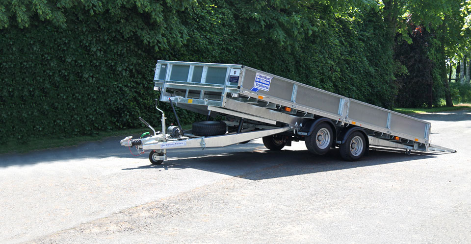 CT167 Ifor Williams Car Transporter, Westwood New trailer