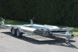 CT177 Ifor Williams Car Transporter, Westwood New Trailers,