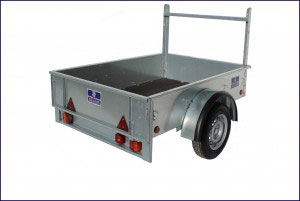 Economy Car Trailer Non Ifor Williams, Westwood New Trailers, 5'10 x 4'1 - 750kg