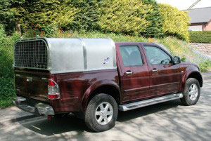 Denver Crew Cab Ifor Williams Canopy, Westwood New Trailers,