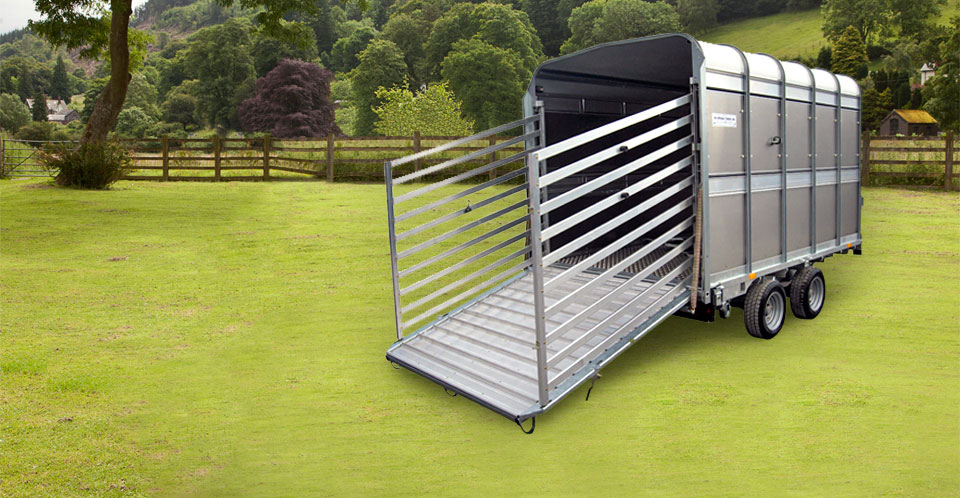 DP120 Ifor Williams Livestock, Westwood New trailers