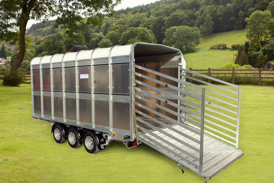 DP120 Ifor Williams Livestock, Westwood New Trailers,