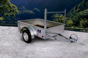 Economy Car Trailer Non Ifor Williams, Westwood New Trailers,